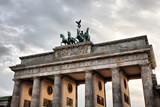 Quadriga on the top of Brandenburg Gate