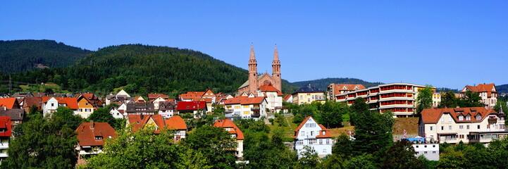 FORBACH ( Schwarzwald ) - Stadtpanorama