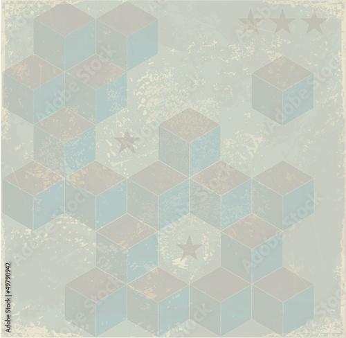 Retro styled background