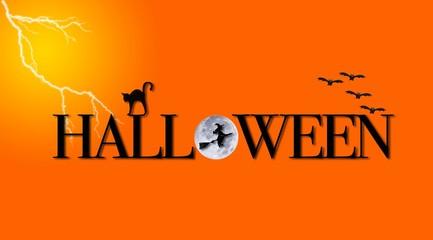 Halloween logo.