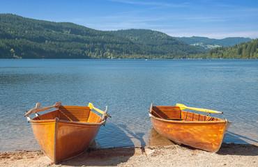 am beliebten Touristenziel Titisee im Schwarzwald