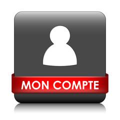 """Bouton Web """"MON COMPTE"""" (profil utilisateur options préférences)"""