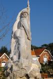 Monument aux morts, Soulac sur mer, Médoc. poster