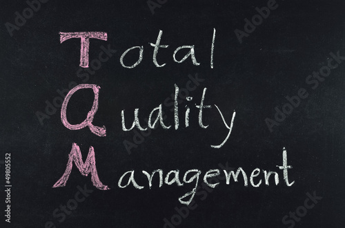 total quality management (TQM) concept