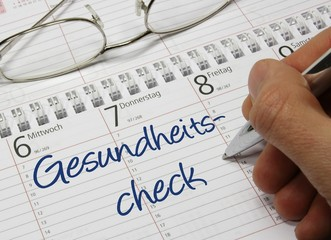 Kalender Gesundheitscheck