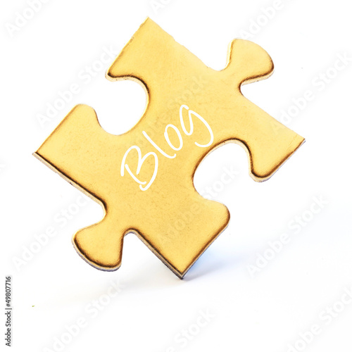Golden Puzzle Piece - Blog