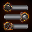 Fiery Cog Wheel