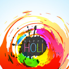 colorful holi festival