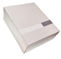 carton box isolated on white
