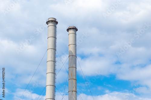 Pipes Of Factory