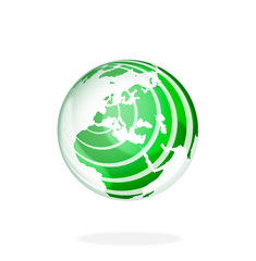 """""""Global green"""" abstract earth verves"""