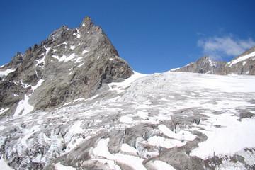 Le Glacier Blanc dans le Massif des Écrins