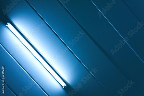 Blue light fluorescent of lamp