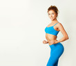 Slim Young Fitness Woman