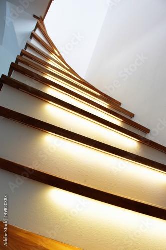 beleuchtete treppe II