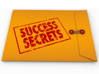 Success Secrets Winning Information Classified Envelope