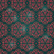 Abstract Seamless Retro Background Pattern