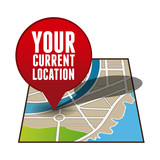 Your current location pointer