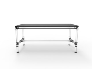 Acrylic Tubular Table
