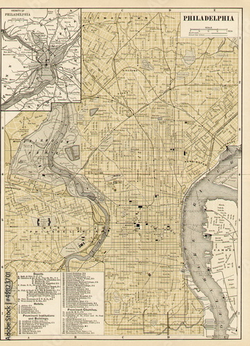 old map