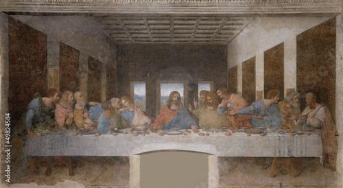 Zdjęcia na płótnie, fototapety, obrazy : L'Ultima Cena di Leonardo da Vinci
