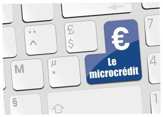 clavier le microcrédit