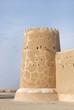 Beautiful western tower of Zubarah fort, Qatar