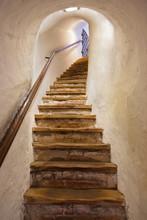 Escaliers dans le château de Kufstein - Autriche