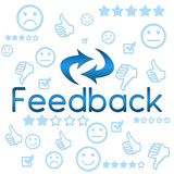 Feedback with Symbols - Blue