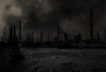 Apokalyptisches Nachkriegs Szenario