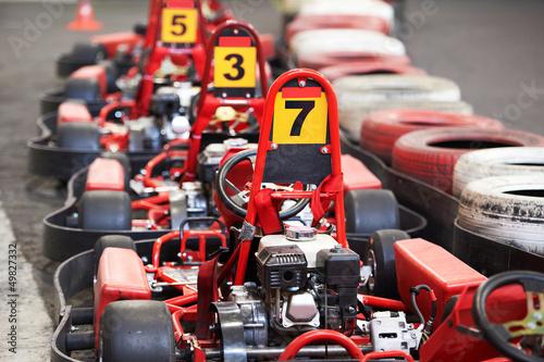 Foto op Plexiglas Motorsport Machine karting