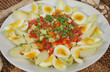 Salat mit Ei und Chicoree - Salad With Egg