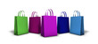 Shopping Bags Multi Colored