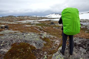 Hikers Lookout in der Hardangervidda