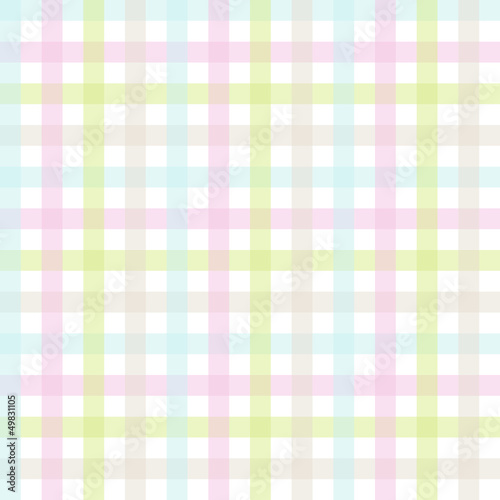 Seamless Check Pattern Easter Pastel