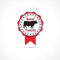 Label boeuf français