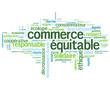 """Nuage de Tags """"COMMERCE EQUITABLE"""" (label développement durable)"""