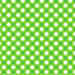 Fresh green gingham fabric cloth, seamless pattern included