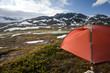 Zelten in der Hardangervidda