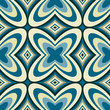 Retro Wallpaper Abstract  Seamless Pattern