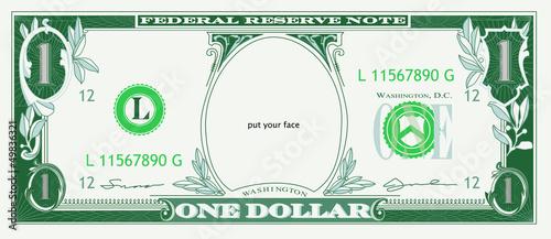 DOLLAR face
