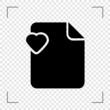 Heart File Icon
