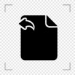 Backward File Icon