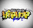 Graffiti wall background, urban art