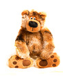 soft toy teddy bear brown