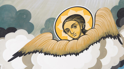 Wall Painting - Angel
