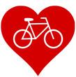 Fahrrad Herz