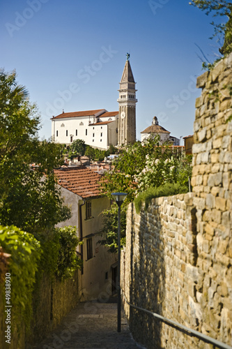 Slovenia (Piran) Narrow lane