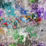 Fototapety Fond mur grunge - Graffitis