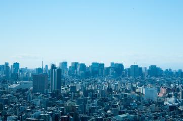 スカイツリータワーからの景色
